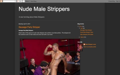 Nude Male Strippers