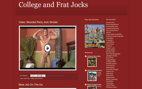 College and Frat Jocks