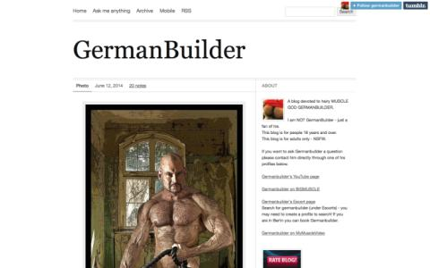 Germanbuilder - 6 foot German Muscle God