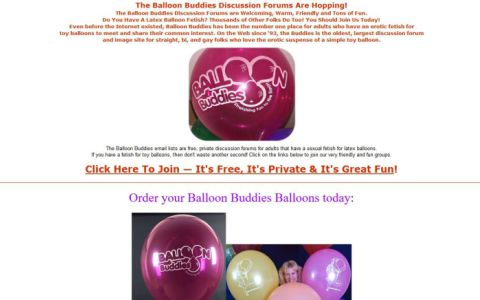 Balloon Buddies Ltd