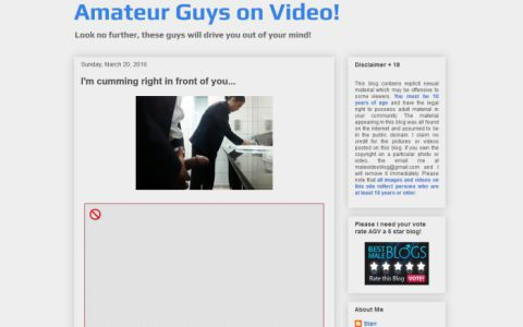 Amateur Guys on Video