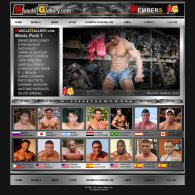 member area screenshot from Muscle Gallery