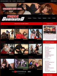 member area screenshot from TGirls Dominated