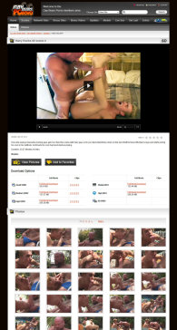 member area screenshot from Gay Bears Porno