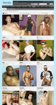 member area screenshot from Interracial Gay Sex Videos