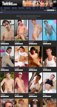 member area screenshot from Twinks