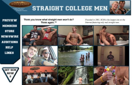 Straight College Men
