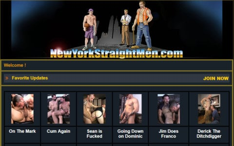 New York Straight Men