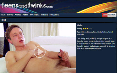 Teen and Twinks