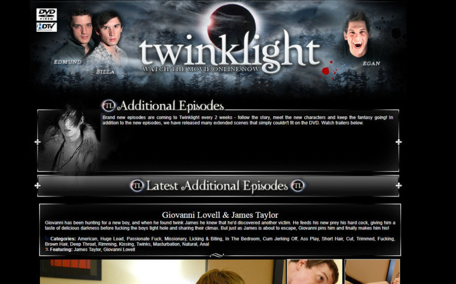 Twinklight tour page screenshot