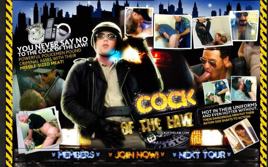 Cock of the Law tour page screenshot