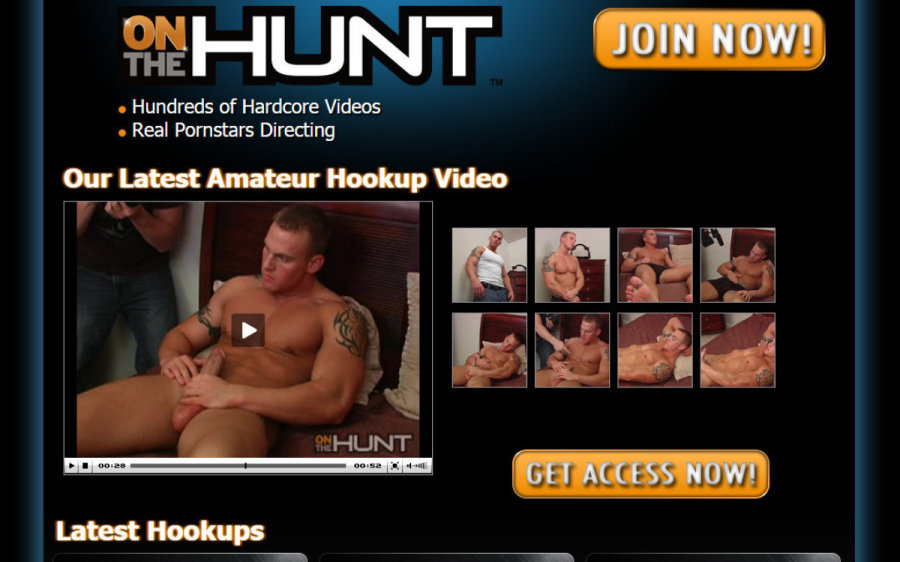 On The Hunt tour page screenshot