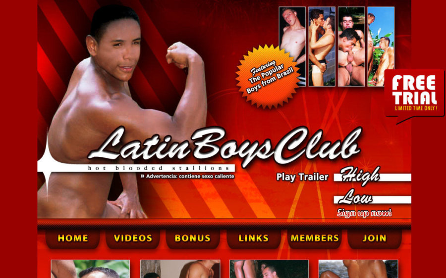 Latin Boys Club tour page screenshot