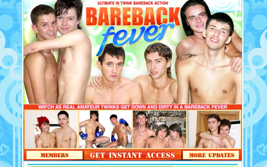 Bareback Fever tour page screenshot