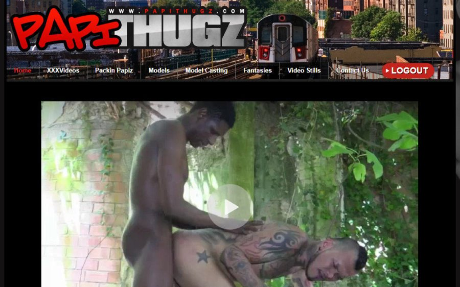 Papi Thugz tour page screenshot