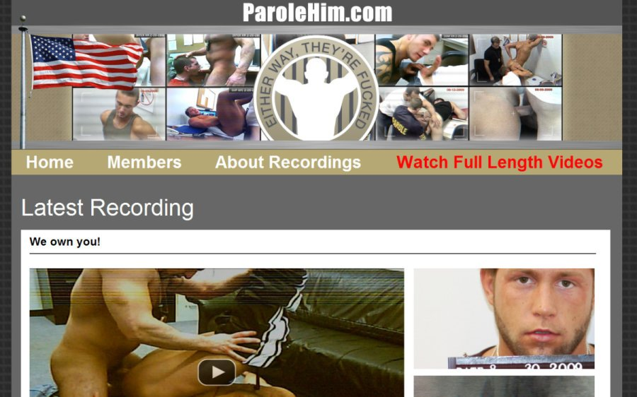 Parole Him tour page screenshot
