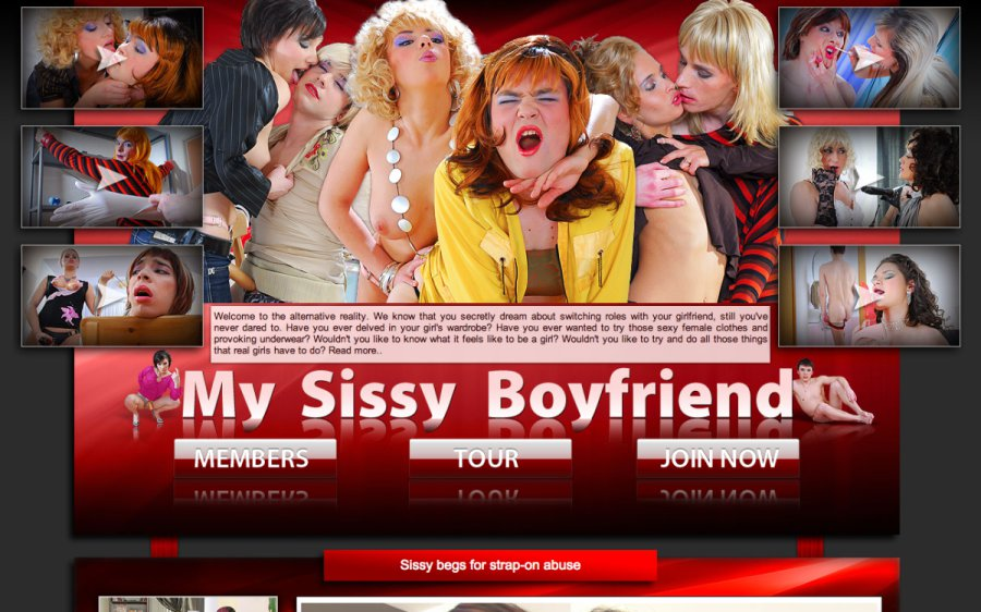 My Sissy Boyfriend tour page screenshot
