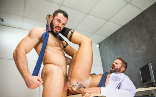 "Jessy Ares fucks Dani Robles hard in ""Decisions"" at MEN"