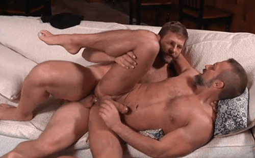 Daddy scene gay sex :  Colby Jansen and Dirk Caber