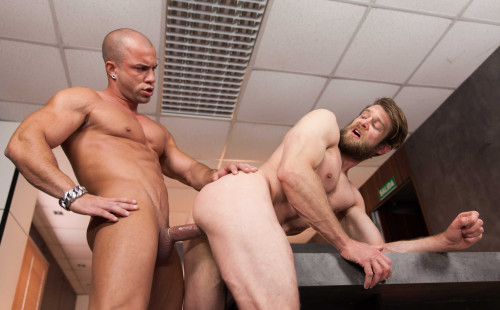 "Antonio Aguilera pounds Colby Keller's hole in ""Special Day"""