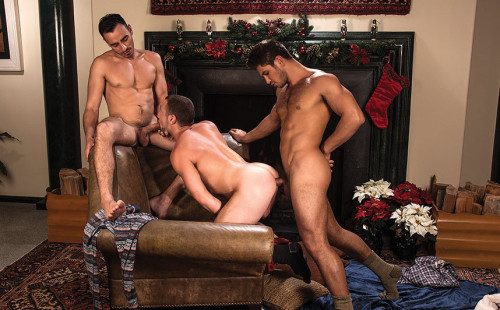Dato Foland, Donnie Dean & Nigel Banks have raw threeway