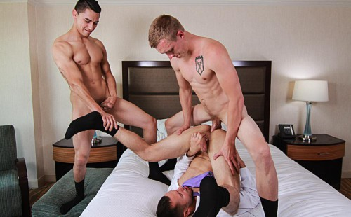 Zane Anders and Brenner Bolton and Chandler Banks Fuck