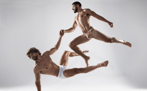 Some fine bulges in excellent art photography!