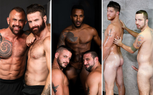 Pride Studios update: 2 duos and a hot threesome