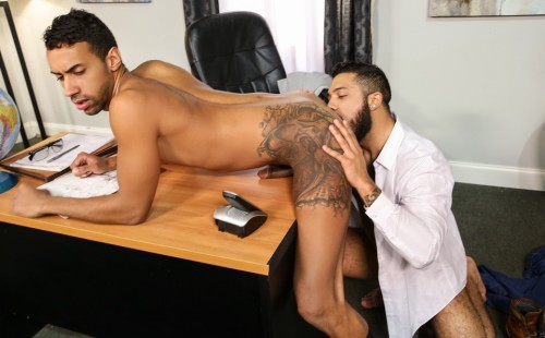 Jay Alexander and Mario Cruz