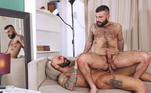 Porn newbie Manuel Belator gets fucks by Juanjo Rodriguez