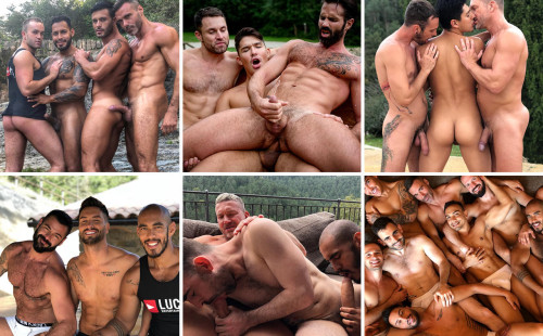 ON SET: Dani Robles, James Castle, Andy Star, Viktor Rom