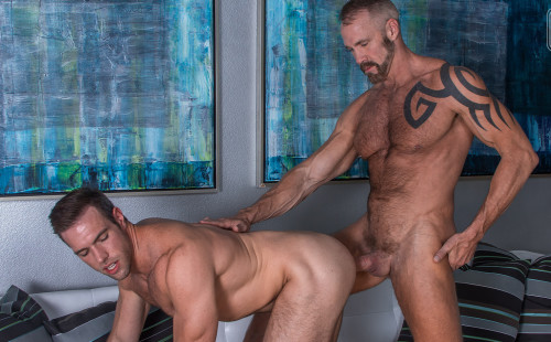 Alex Mecum and Dallas Steele take turns fucking each other