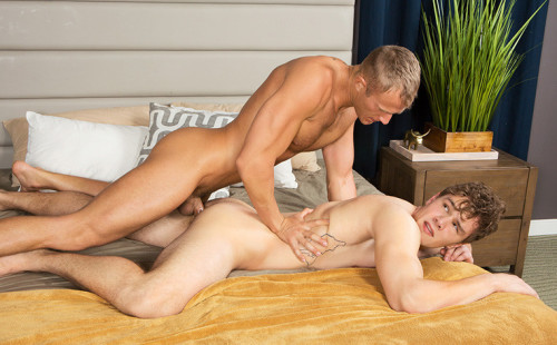 Bareback flip-fuck with Sly and Blake!