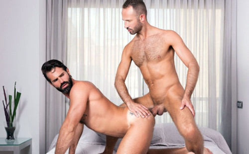 Dani Robles takes Vadim Romanov's big uncut dick