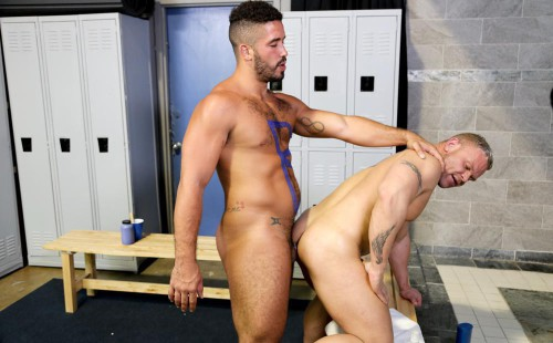 Trey Turner Fucks Daxton Ryker In The Locker Room