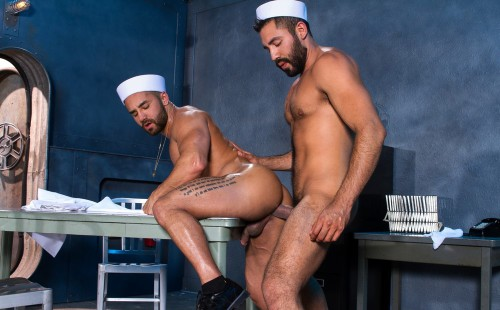 Bruno Bernal Takes Gabriel Taurus' Big Dick