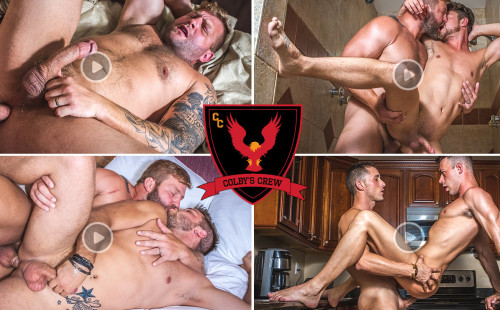 Gay Porn Star Colby Jansen Launches - Colby's Crew