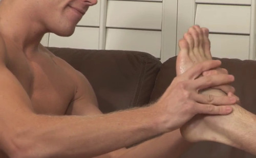 Young boy feet massaged lick hot cute twink 2