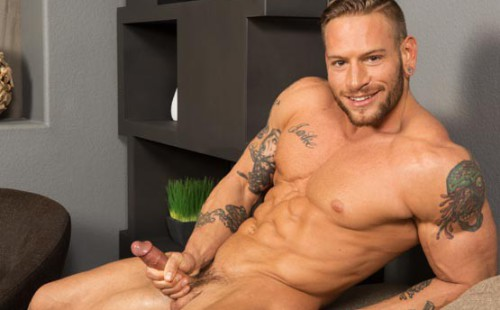 Brennan - Masculine and Naked and Hard