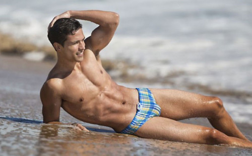 Xavier Is Spectacularly Beautiful In His Swimwear
