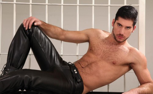 Hot Studs Dressed In Leather