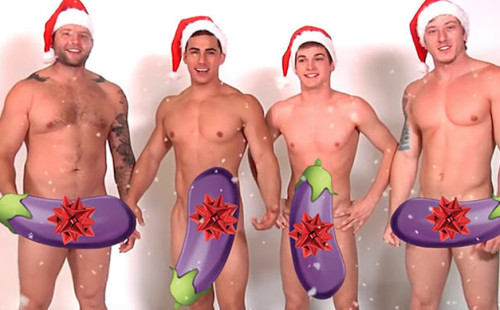 Gay Porn Stars Wishing Everyone Happy Holidays