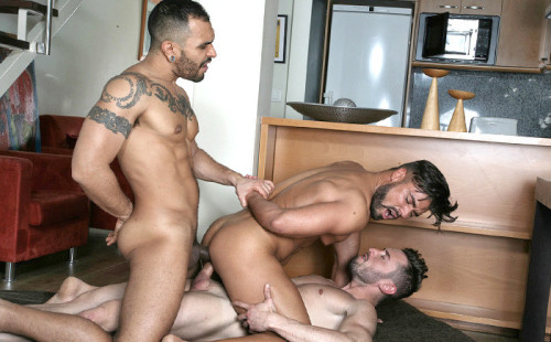 Lucio Saints And Marcos Oliveira Double Fuck Dann Grey
