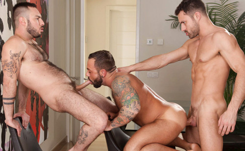 James Castle and Macanao Torres Fuck Sergi Rodriguez Raw