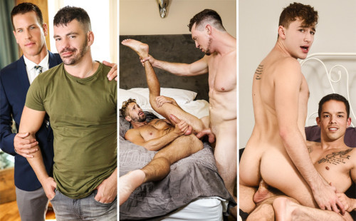 MEN scenes with Zander Lane, Nic Sahara, Kelly Evans & more