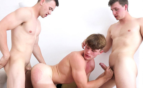 Price Hogan, Adrian Monroe And James Manziel Threesome
