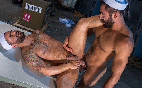 Gabriel Taurus Fucks Bruno Bernal's Ass